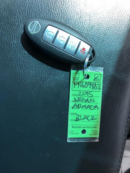 Nissan Armada 2015 price $20,995