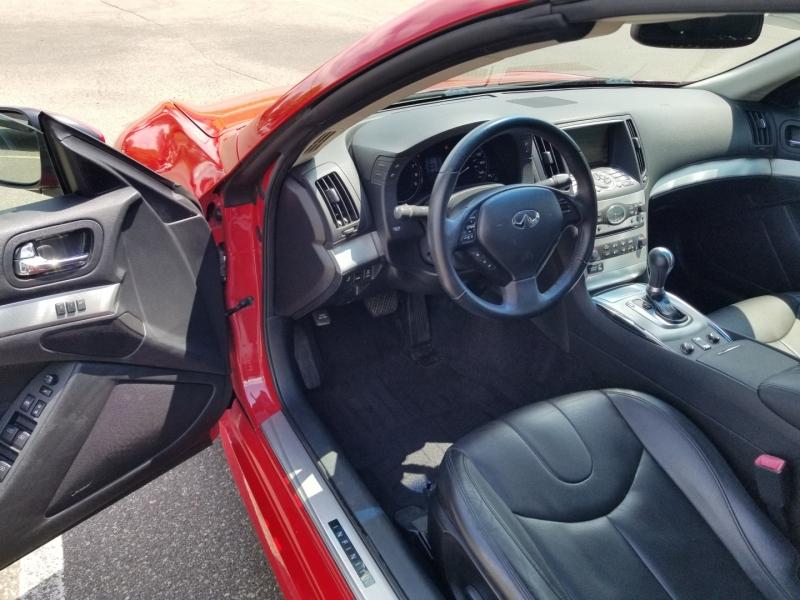 Infiniti G 37C 2012 price $21,698