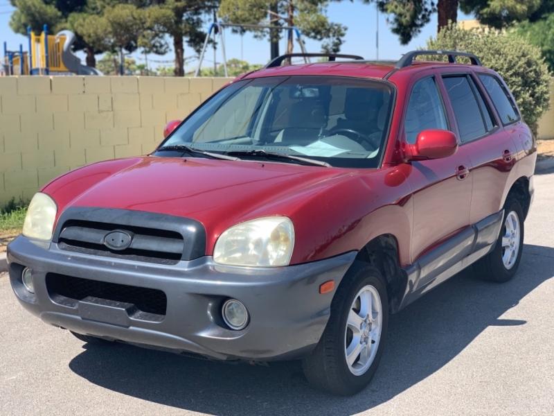 Hyundai Santa Fe 2005 price $0