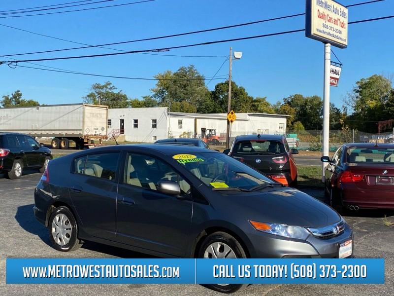 Honda Insight 2012 price $6,899