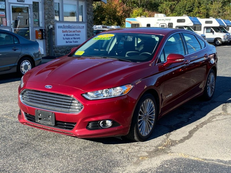 Ford Fusion Hybrid 2014 price $8,498