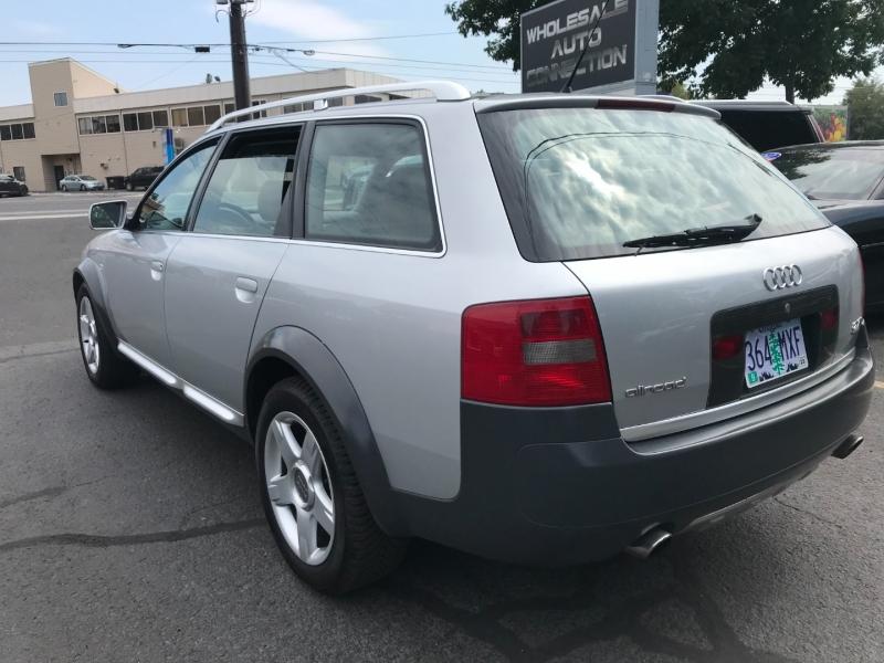 Audi Allroad 2001 price $6,995