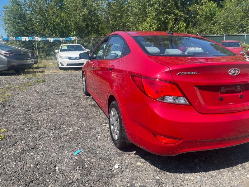 Hyundai Accent 2015 price $5,800