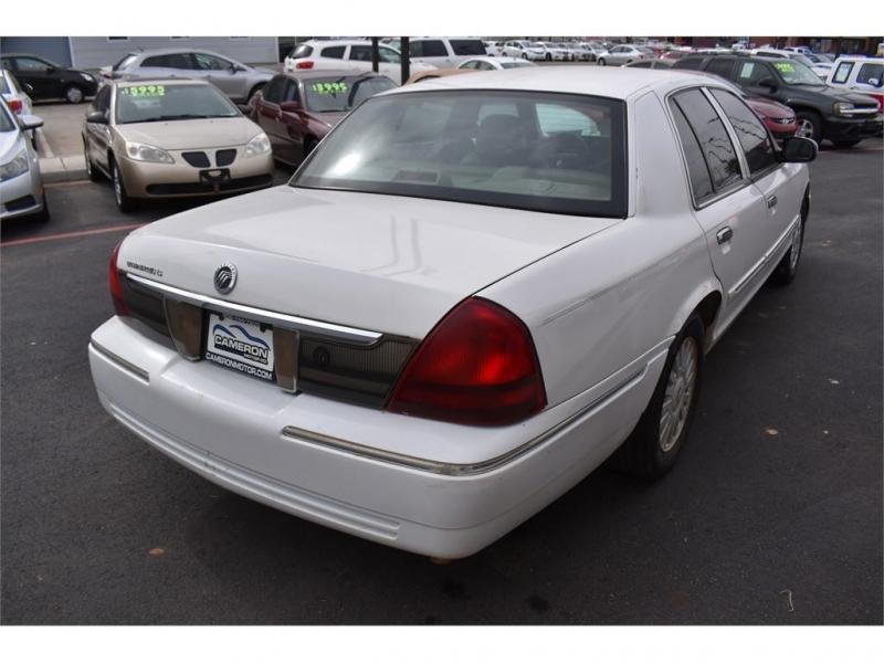 Mercury Grand Marquis 2008 price $11,995