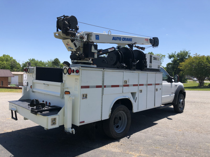 Ford F550 Crane Body 2006 price $21,500