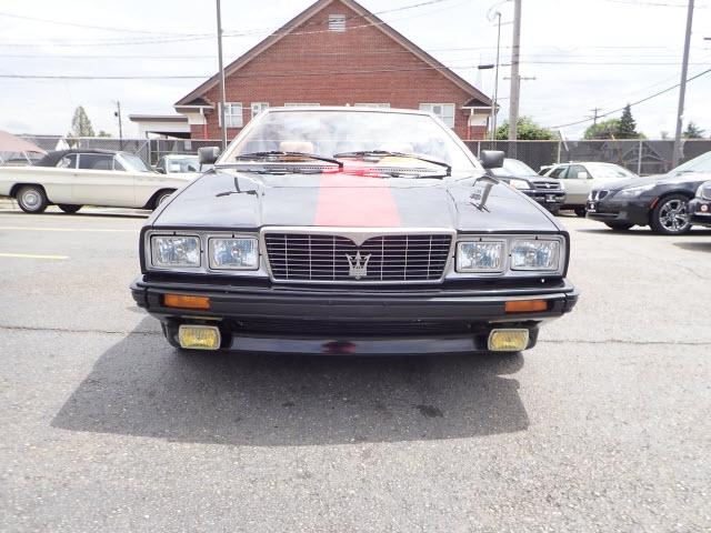 Maserati Spyder 1986 price $8,590