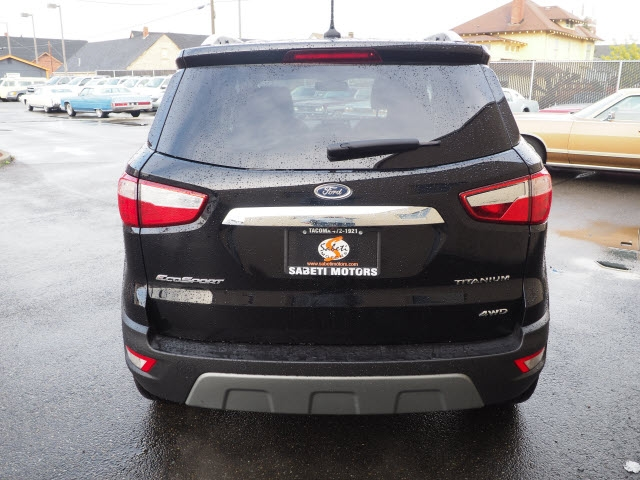 Ford Ecosport 2019 price $18,990