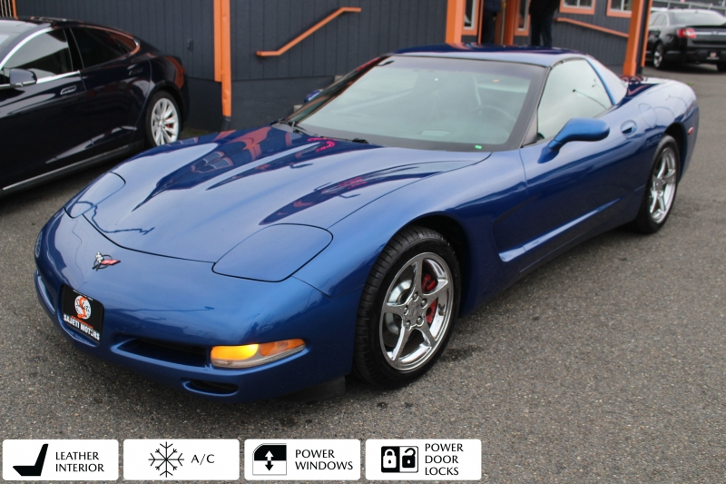 Chevrolet Corvette 2002 price $10,777