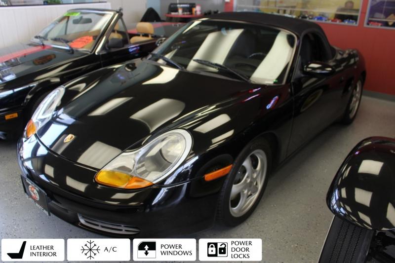 Porsche Boxster 1997 price $10,990