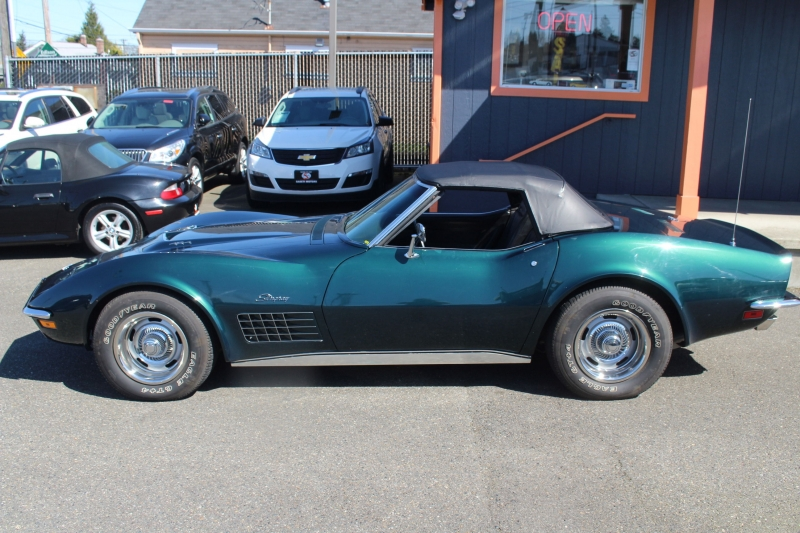 Chevrolet Corvette convertible 1972 price $44,990