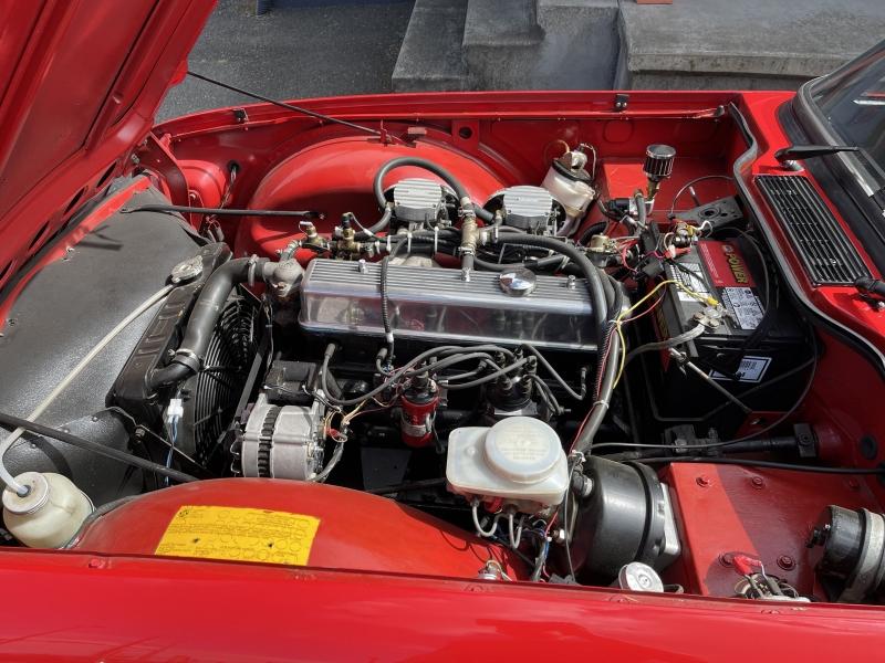 Triumph TR6 1975 price $28,990