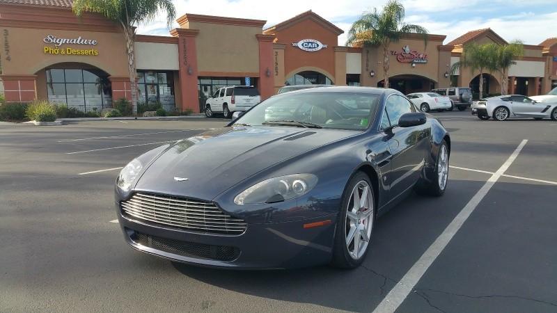2007 Aston Martin Vantage 2dr Cpe Manual Canyon Car Company Dealership In Canyon Lake