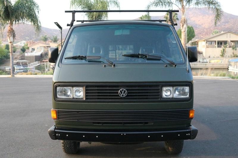 Volkswagen Vanagon GL Syncro 4X4 1987 price $29,900