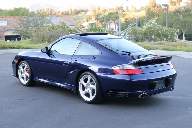 Porsche 911 Turbo 2001 price $69,800