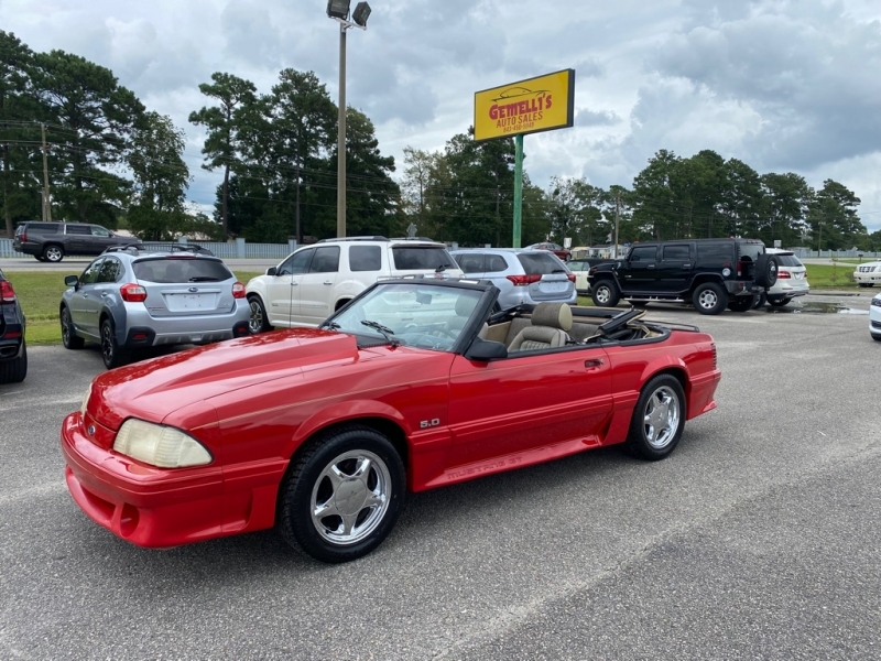 FORD MUSTANG 1988 price $13,599