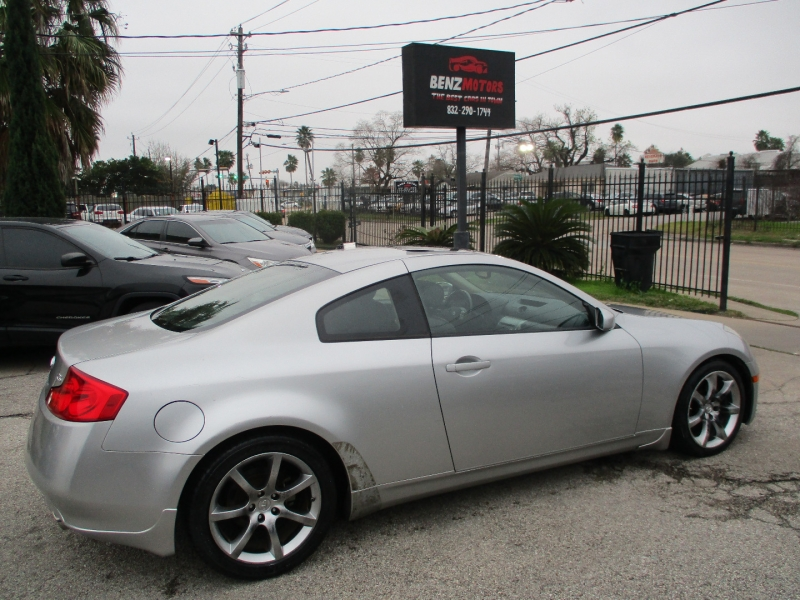 Infiniti G35 Coupe 2004 price $5,900