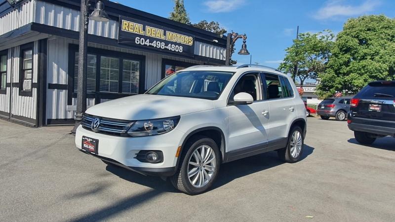 Volkswagen Tiguan 2015 price $16,900