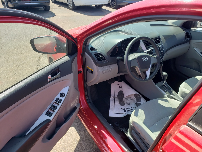 Pre-Owned 2016 Hyundai ACCENT 4 DOOR SEDAN