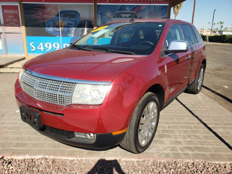 Lincoln MKX 2008 price $15,995