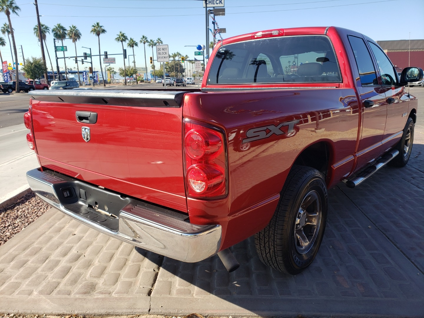 Pre-Owned 2008 Dodge RAM PICKUP 4 DOOR CAB; EXTENDED; QUAD
