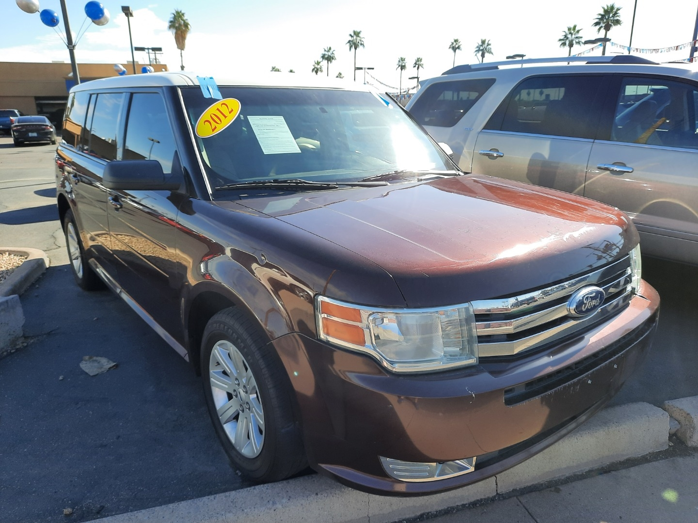 Pre-Owned 2012 Ford FLEX 4 DOOR WAGON
