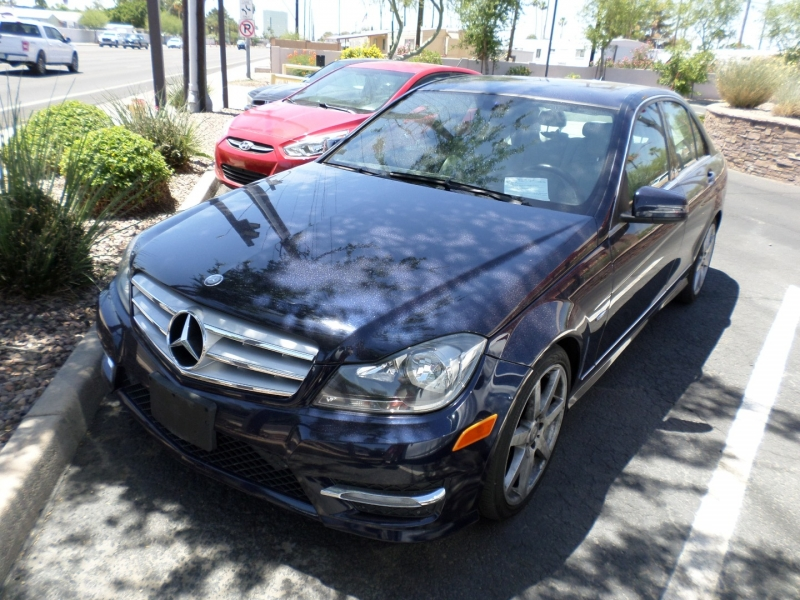 Mercedes-Benz C-Class 2012 price $16,695
