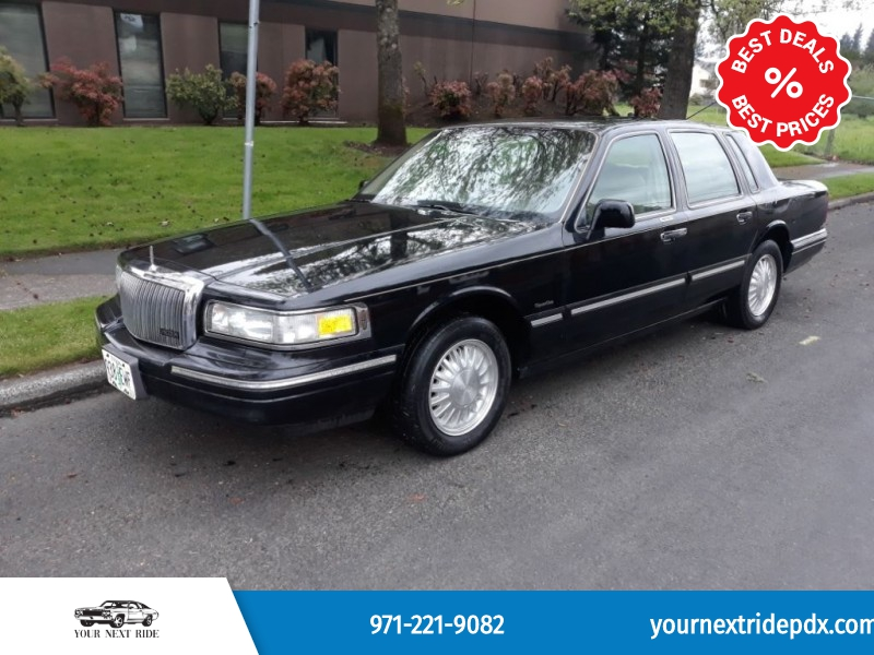 LINCOLN TOWN CAR 1997 price $3,995