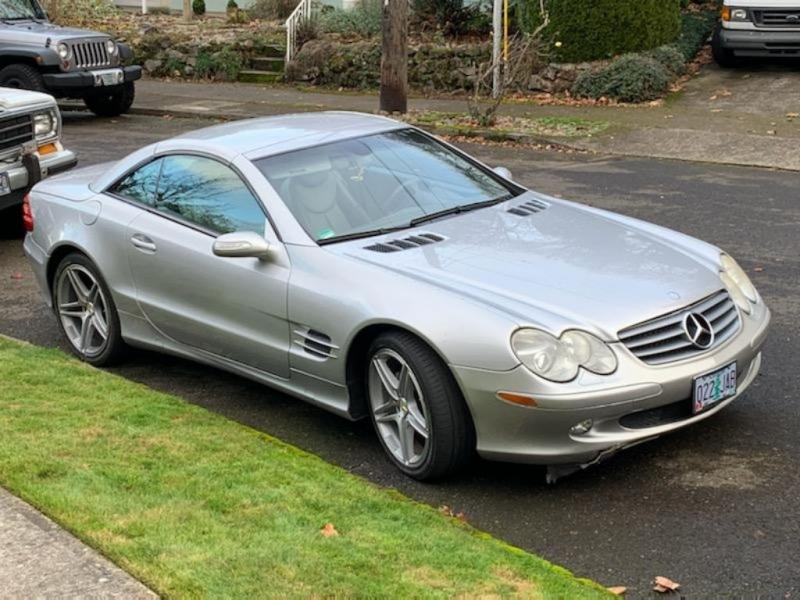 MERCEDES-BENZ SL 2004 price $10,995