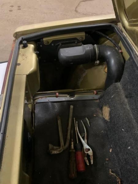 FIAT X1/9 1980 price $9,995