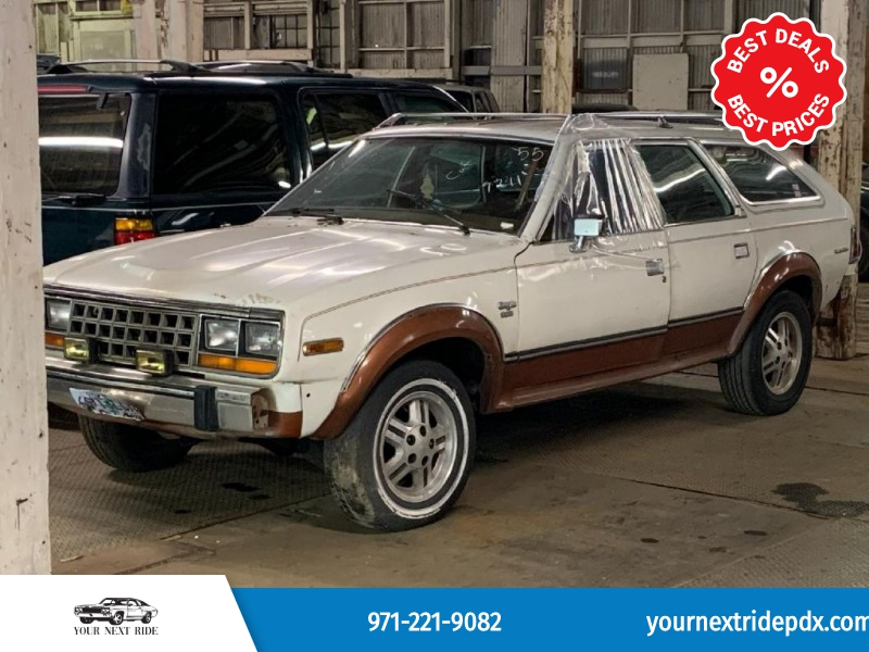 AMERICAN MOTORS EAGLE 1982 price $6,995