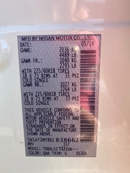 NISSAN ROGUE 2014 price $8,950