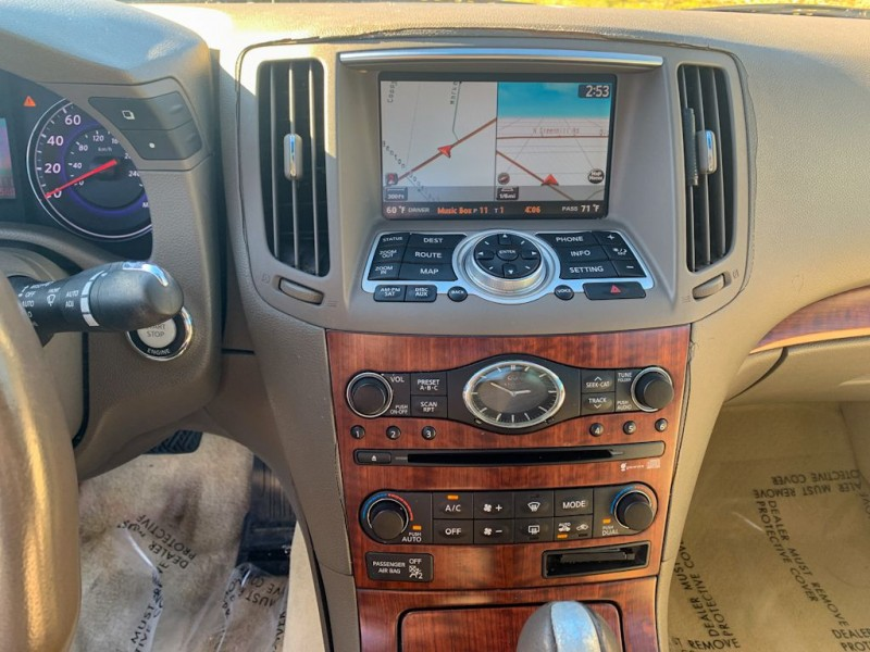 INFINITI G37 2009 price $10,990