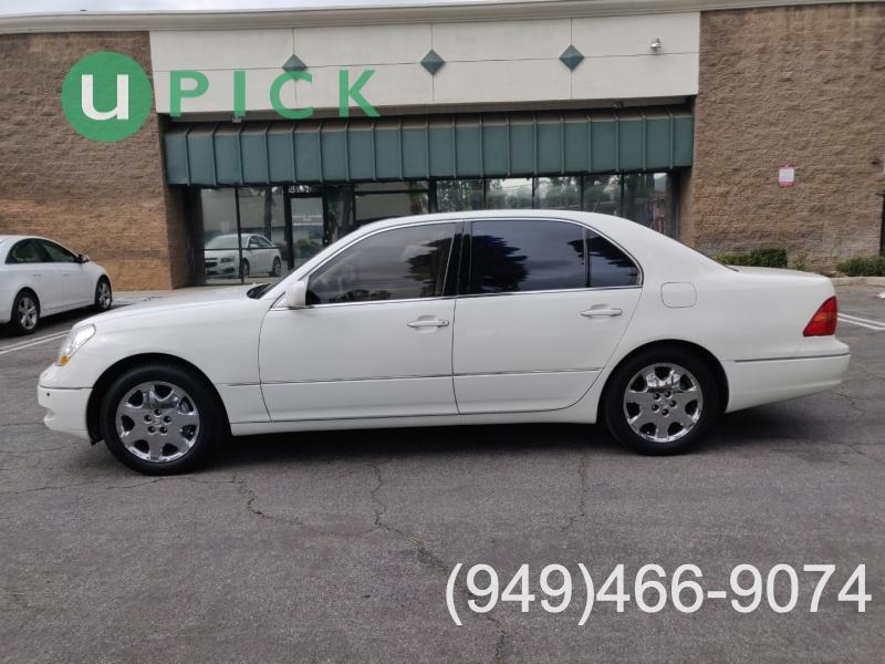 Lexus LS 430 2001 price $7,081
