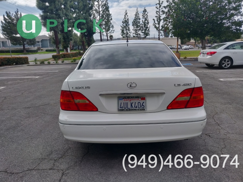 Lexus LS 430 2001 price $6,450