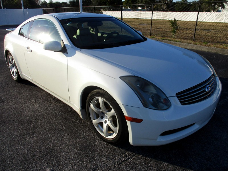Infiniti G35 Coupe 2005 price $8,999
