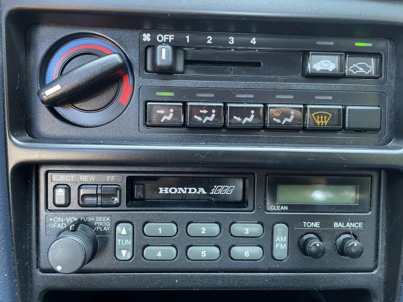 Honda CRX 1990 price $17,999