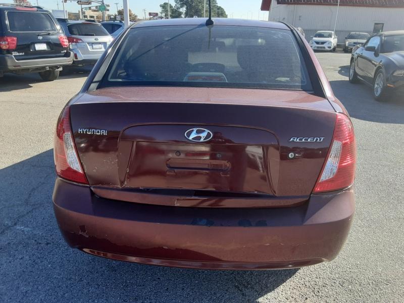 Hyundai Accent 2009 price $2,550