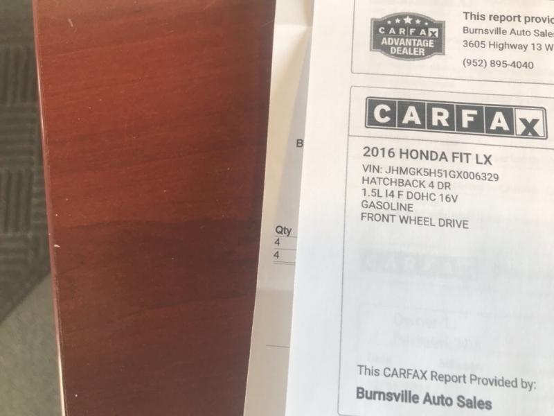 Honda Fit 2016 price $7,400