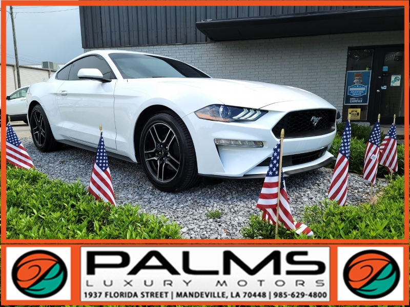 Ford MUSTANG ECOBOOST, AUTO, LOW MILES 2020 price $33,332