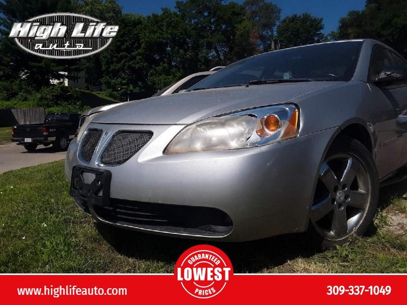 Pontiac G6 2006 price $1,500