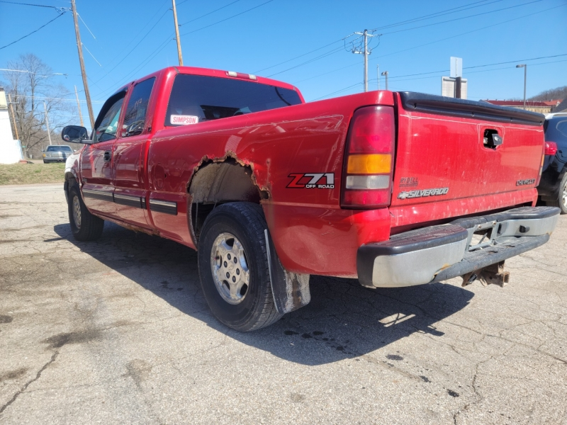 Chevrolet Silverado 1500 2002 price $2,000