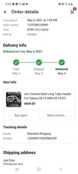 SUBARU WRX 2016 price $29,995