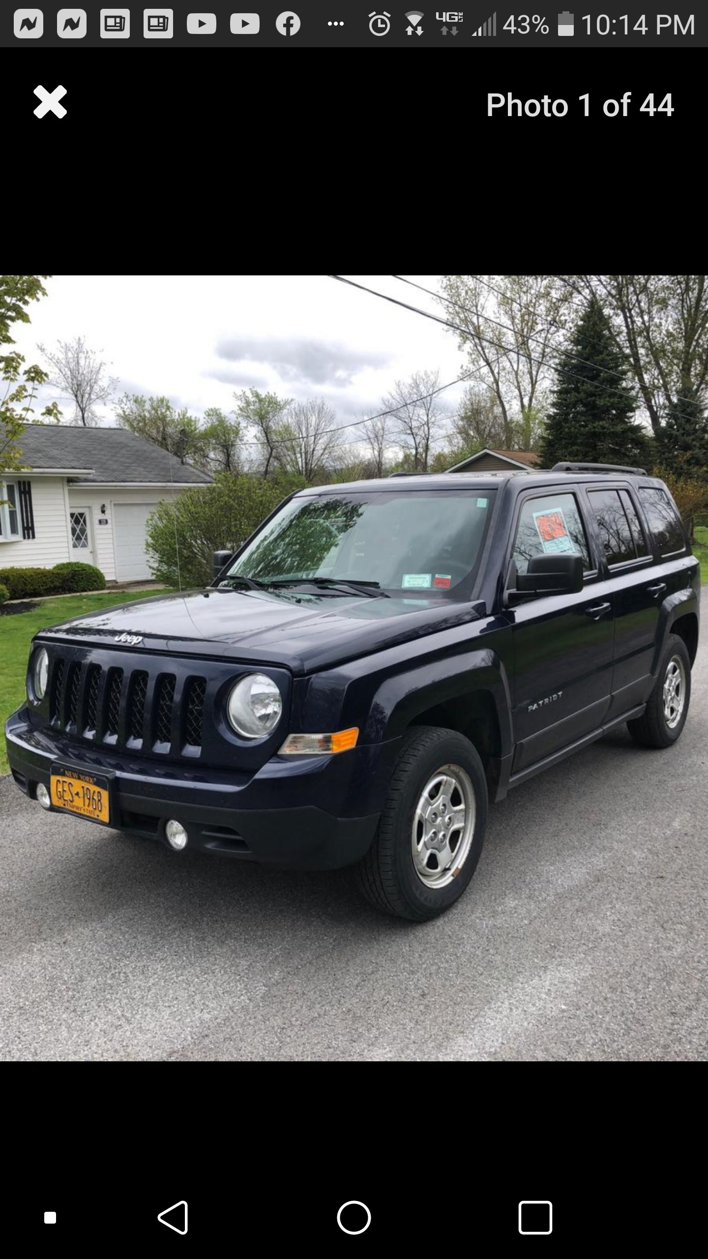 2015 Jeep Patriot 4wd 4dr Sport Low Priced Auto Dealership In Rome