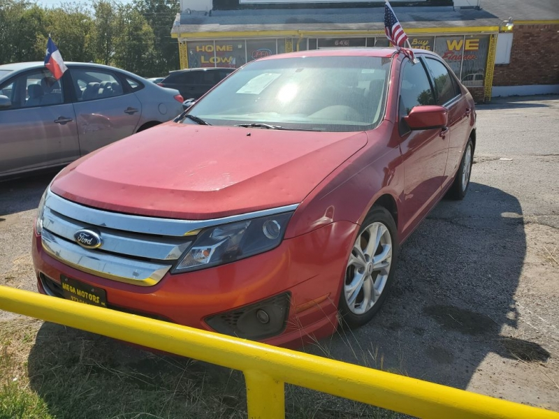 FORD FUSION 2012 price $825 Down