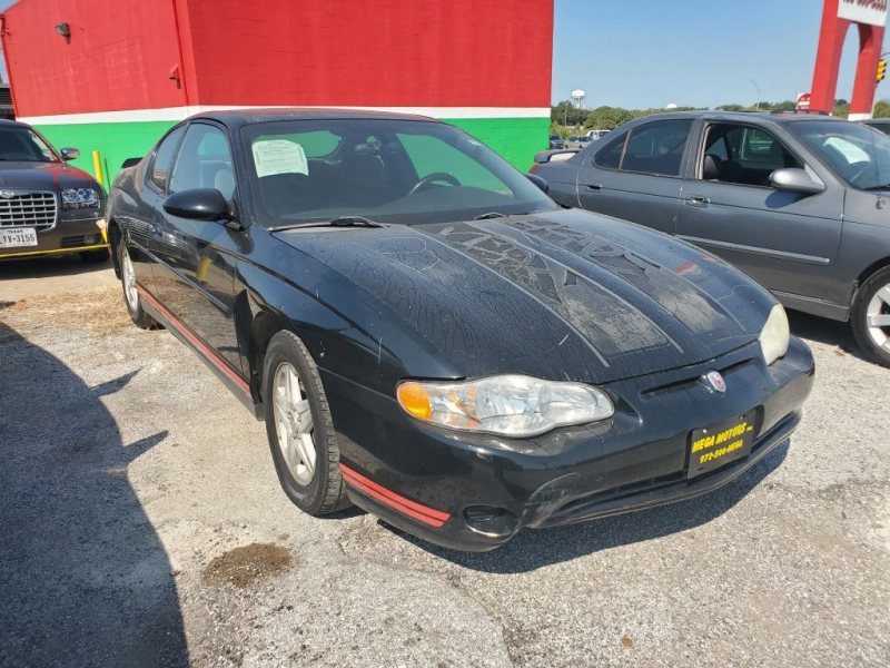 CHEVROLET MONTE CARLO 2004 price $500 Down