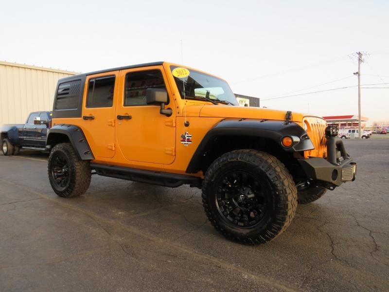 Jeep Wrangler Unlimited 2012 price $27,995