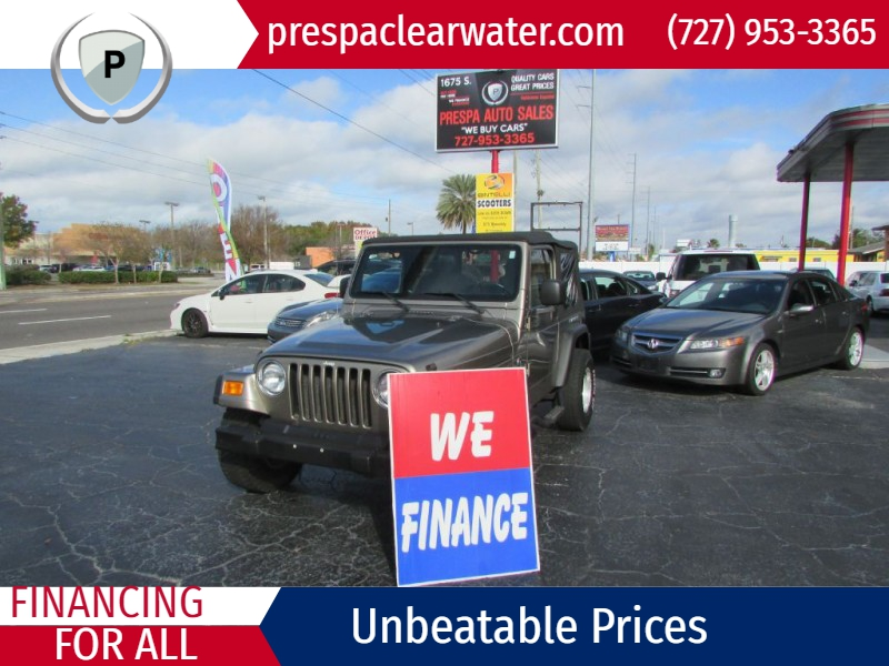 JEEP WRANGLER / TJ 2004 price $12,995