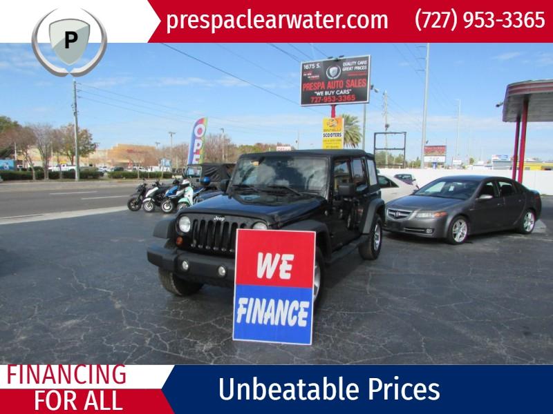 JEEP WRANGLER UNLIMI 2010 price $17,495