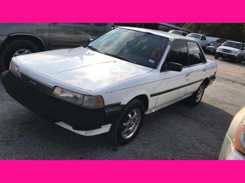 Toyota Camry 1988 price $2,495
