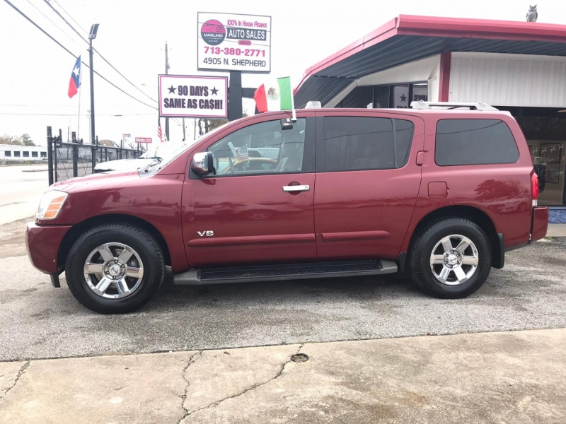Nissan Armada 2007 price $6,500